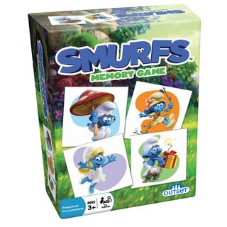 Outset Media Smurfs: Memory Game