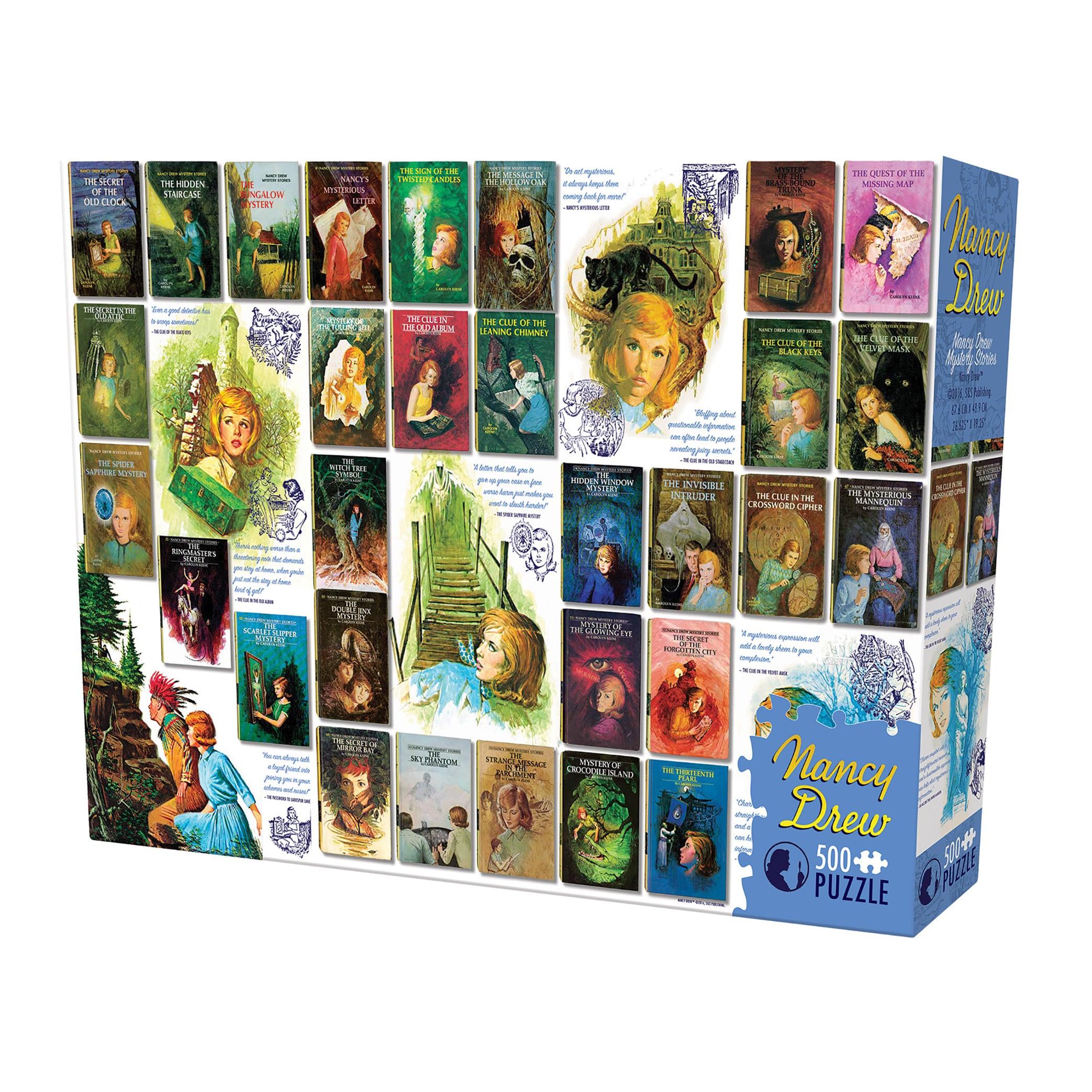 Cobble Hill Nancy Drew Mysteries Puzzle - 500 Pieces (G62...
