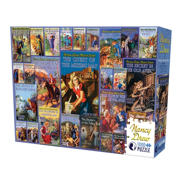 Cobble Hill Vintage Nancy Drew Puzzle - 1,000 Pieces