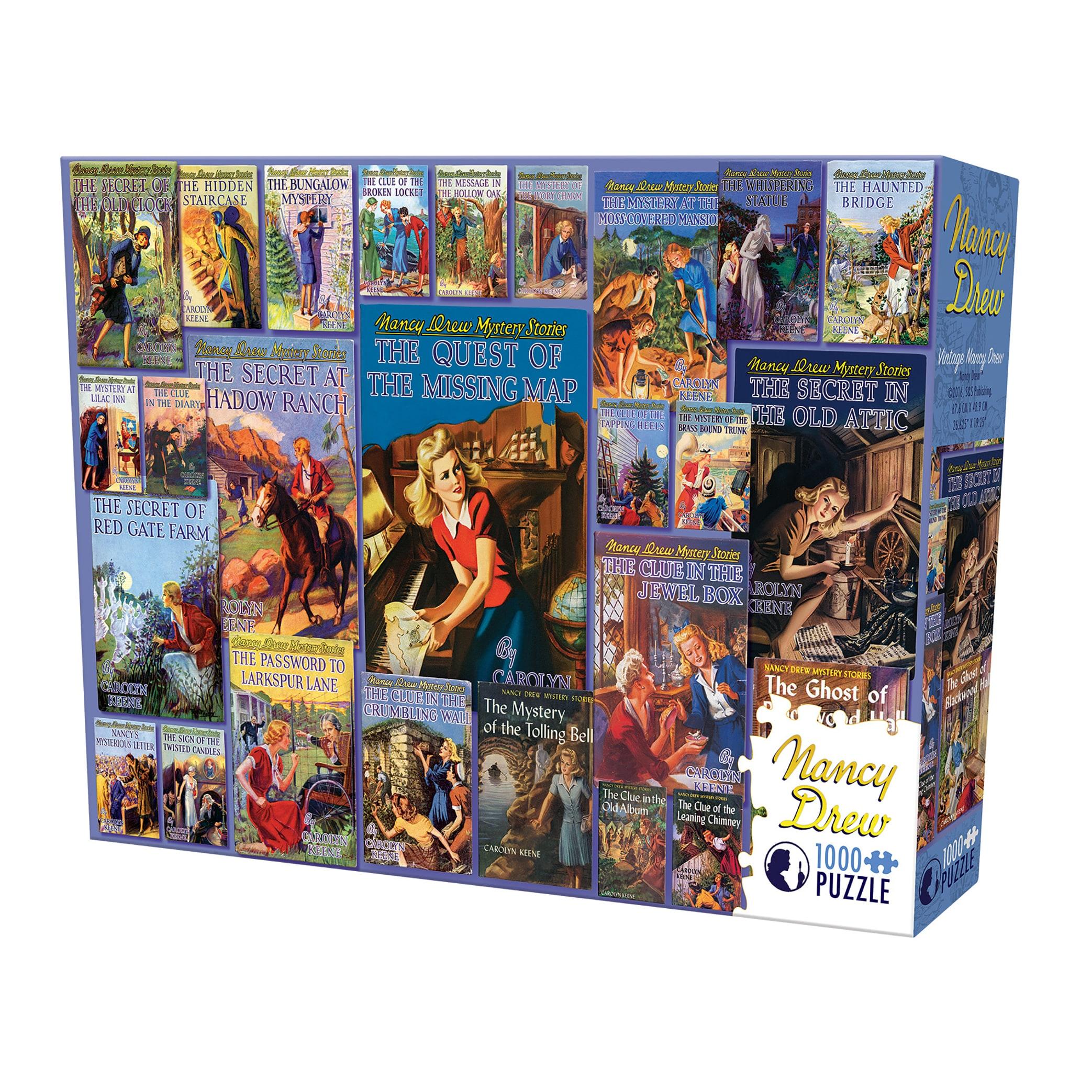 Cobble Hill Vintage Nancy Drew Puzzle - 1,000 Pieces (G62...