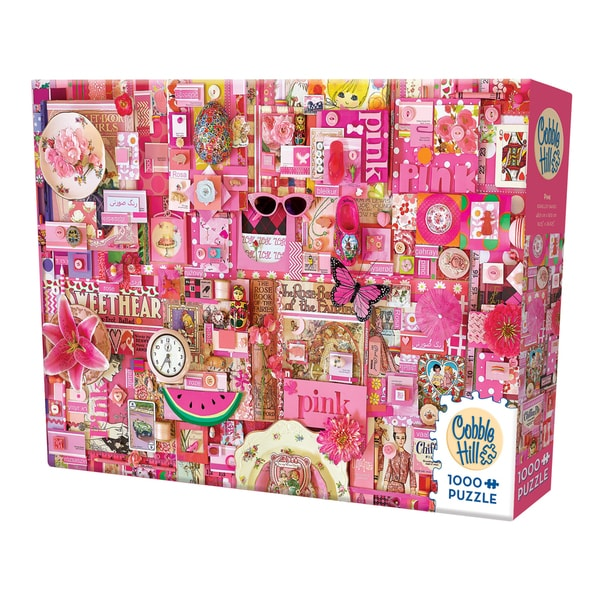 Cobble Hill All Things Pink Puzzle - 1,000 Pieces