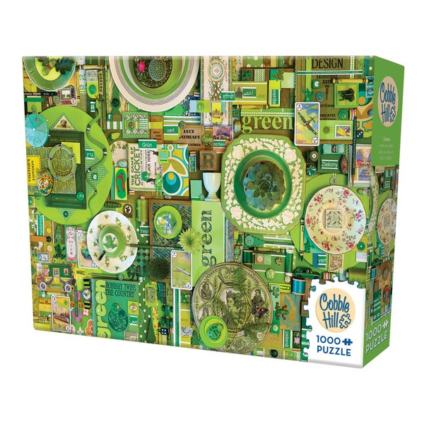 Cobble Hill All Things Green Puzzle - 1,000 Pieces