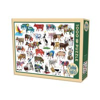 Cobble Hill Cow Parade Puzzle - 1,000 Pieces