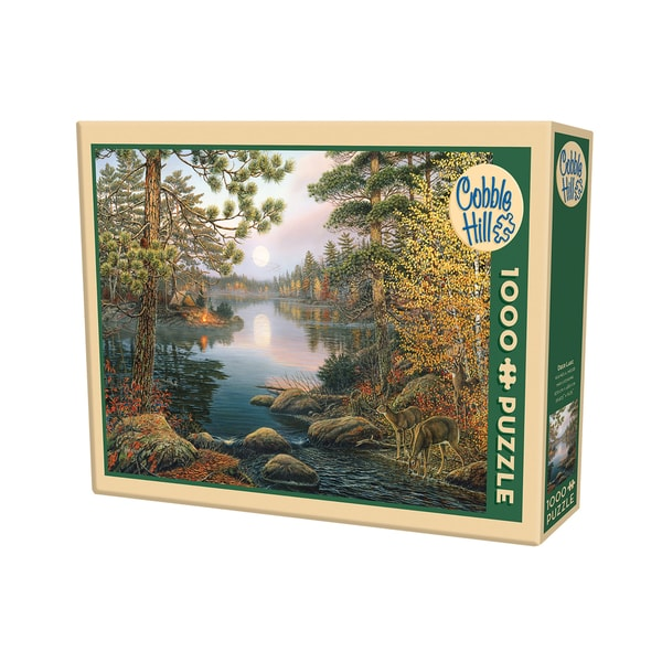 Cobble Hill Deer Lake Puzzle - 1,000 Pieces