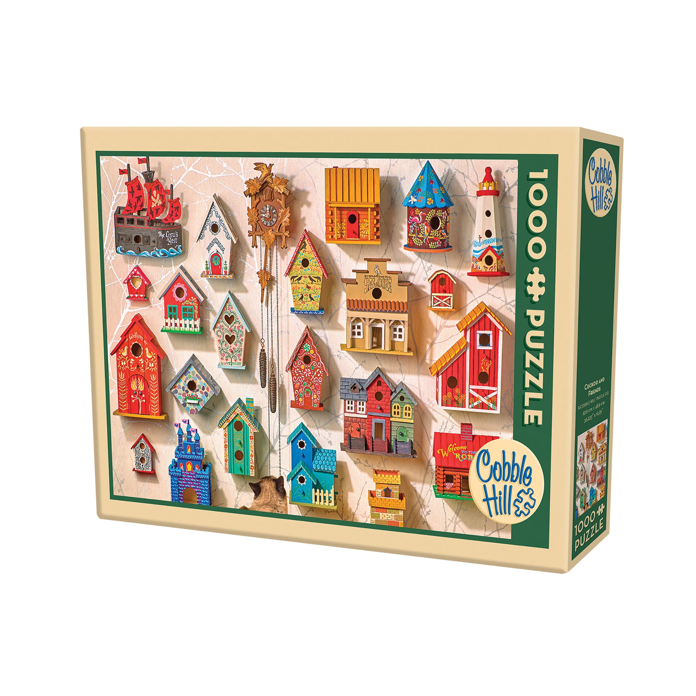 Cobble Hill Cuckoo and Friends Puzzle - 1,000 Pieces (G62...
