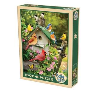 Cobble Hill Summer Birdhouse Puzzles - 1,000 Pieces