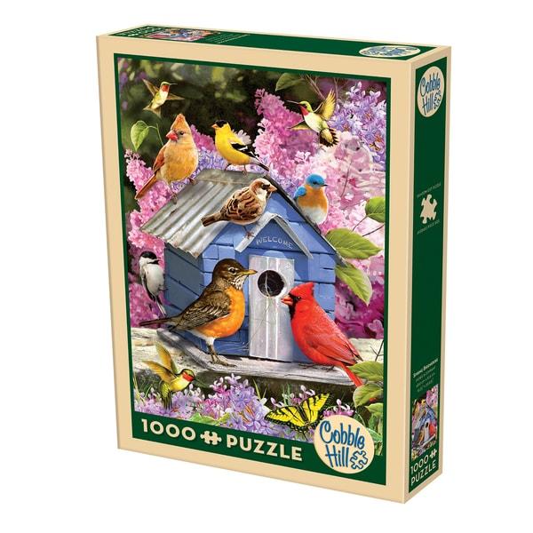 Cobble Hill Spring Birdhouse Puzzle - 1,000 Pieces