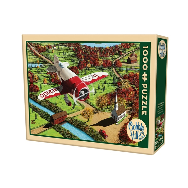 Cobble Hill Gee Bee Over New England Puzzle - 1,000 Pieces