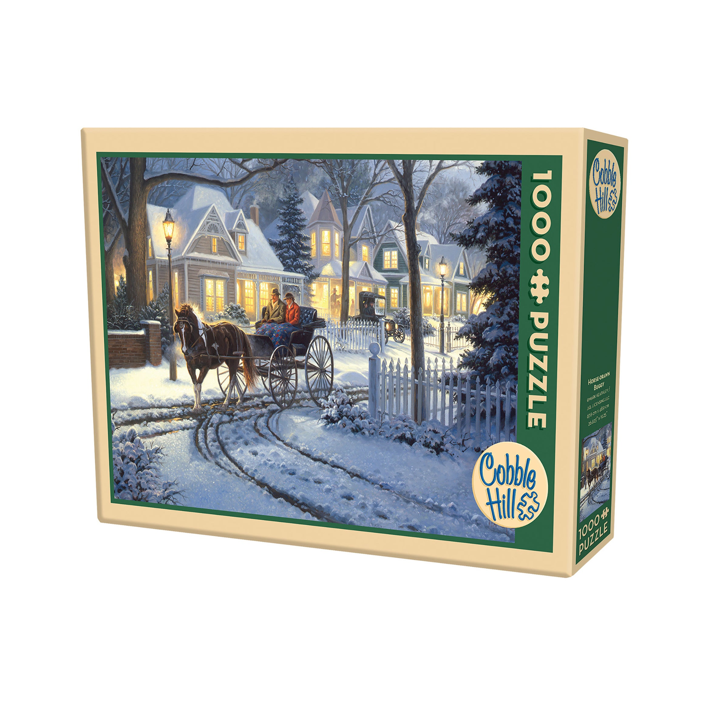 Cobble Hill Horse-Drawn Buggy Puzzle - 1,000 Pieces (G625...