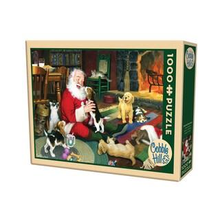 Cobble Hill Santa's Playtime Puzzle - 1,000 Pieces