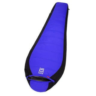 Winter Lovers Duck Down Outdoor Camping Sleeping Bag Blue
