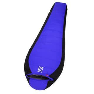 Winter Lovers Duck Down Outdoor Camping Sleeping Bag Blue|https://ak1.ostkcdn.com/images/products/16429715/P22775732.jpg?impolicy=medium