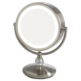 Elizabeth Arden 1x/10X Magnification Lighted Makeup Vanity Mirror with Touch Control
