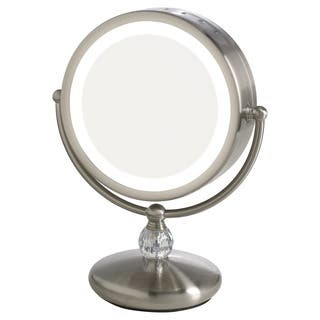 Elizabeth Arden 1x/10X Magnification LED-Lighted Makeup Vanity Mirror w/ Touch Control|https://ak1.ostkcdn.com/images/products/16429731/P22775753.jpg?impolicy=medium