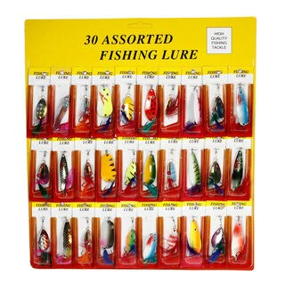 30 Pcs Super Long Short/Sink rapidly With Feather's Fishing Lures