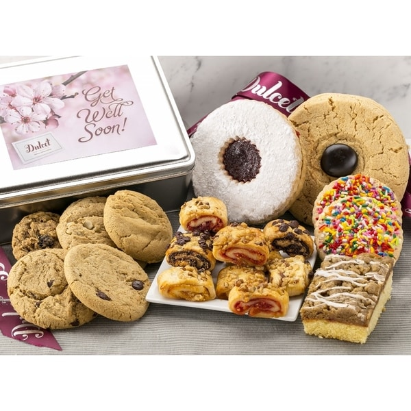 Shop Get Well Speedy Recovery Cookie Gift Treats  - On Sale