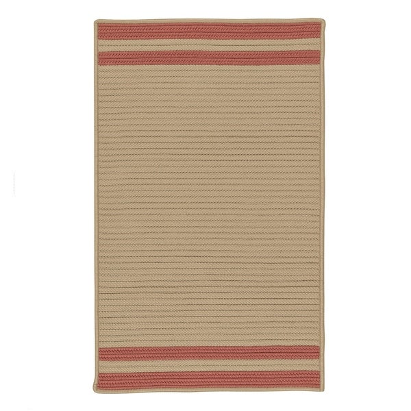 Lima-stripe Indoor/Outdoor Braided Reversible Rug USA MADE - 8' x10'