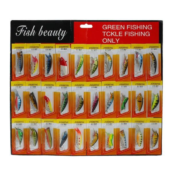 30pcs Fishing Lure False Fishing Bait