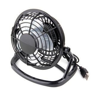 Mini Desk Fan with USB Plug