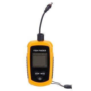 Portable Ultrasonic Wave Sonar Sensor Fish Finder Yellow|https://ak1.ostkcdn.com/images/products/16429965/P22775937.jpg?impolicy=medium