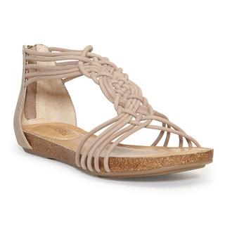 Adam Tucker Women's Cali Rosewood Gladiator Sandals