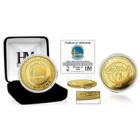 Golden State Warriors 2017 NBA Finals Champions Gold Mint Coin