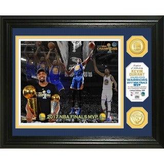 Golden State Warriors 2017 NBA Finals MVP Bronze Coin Photo Mint