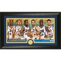 Golden State Warriors 2017 NBA Finals Champions Team Force Panoramic Bronze Coin Photo Mint