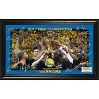 Golden State Warriors 2017 NBA Finals Champions Celebration Signature Court