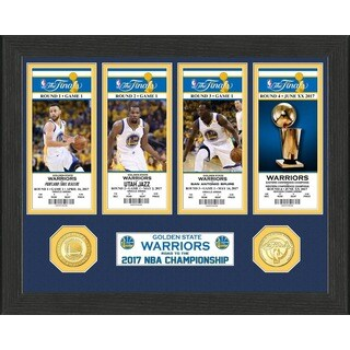 Golden State Warriors 2017 NBA Finals Champions Ticket Collection