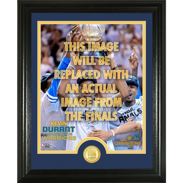"""Kevin Durant 2017 NBA Finals """"Trophy"""" Single Coin Photo Mint"""