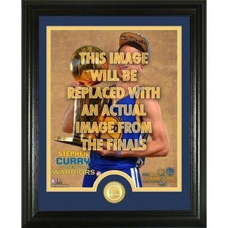 """Stephen Curry 2017 NBA Finals """"Trophy"""" Single Coin Photo Mint"""