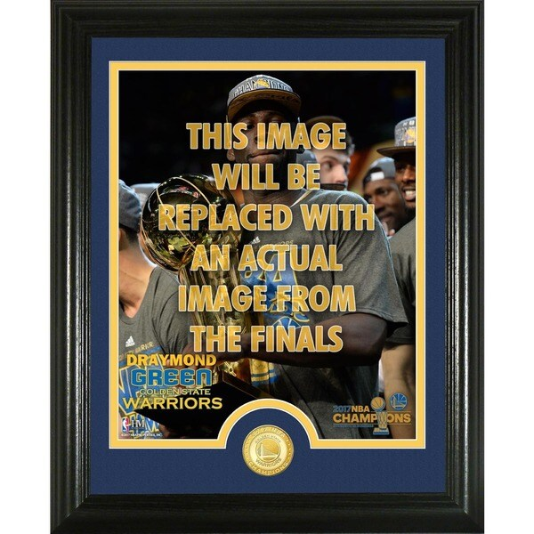 Draymond Green 2017 NBA Finals Trophy Single Coin Photo Mint