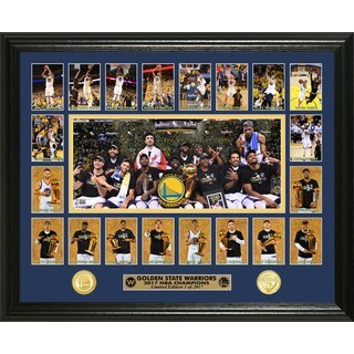 Golden State Warriors 2017 NBA Champions Memorable Moment Bronze Coin Photo Mint