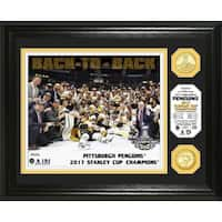 2017 Stanley Cup Champions Bronze Coin Photo Mint