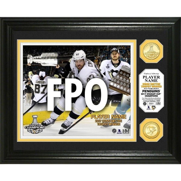 """2017 Stanley Cup """"Conn Smythe"""" Bronze Coin Photo Mint"""