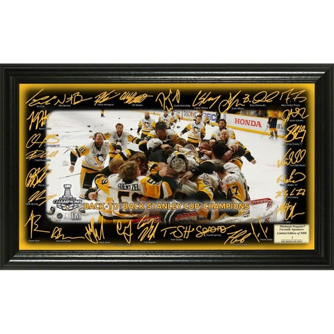2017 Stanley Cup Champions Celebration Signature Rink