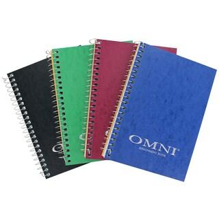"""Norcom 77316-12 7"""" x 5"""" Omni Assignment Book Assorted Colors"""