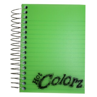 "Norcom 77386-12 5.5-inch X 4"" Personal Size Fat Book Notebook Assorted Colors"
