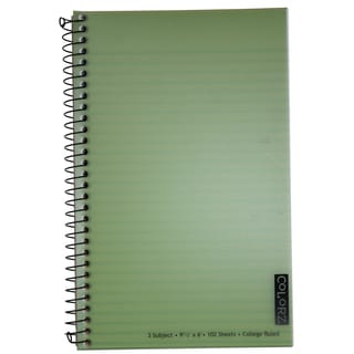 Norcom 77387-12 9.5 X 6 3 Subject Wirebound Notebook Assorted Colors