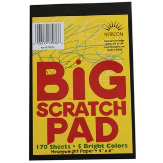 Norcom 78936-24 4 X 6 Big Scratch Pad