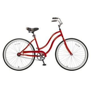 Cycle Force Women's Red 26-inch Cruiser Bike