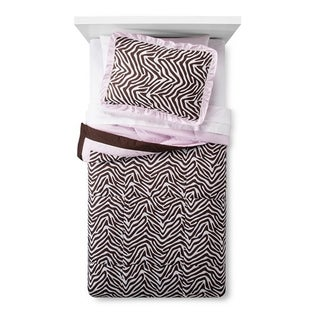 Zara Zebra Twin 3-piece Comforter Set