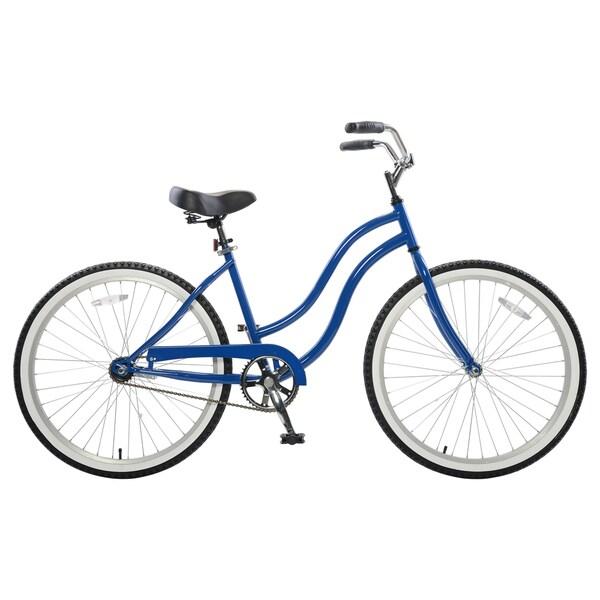 Cycle Force Women's Blue Steel Cruiser Bike