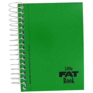 "Norcom 77981-24 5.5-inch X 4"" Basic Fat Book Notebook Assorted Colors"