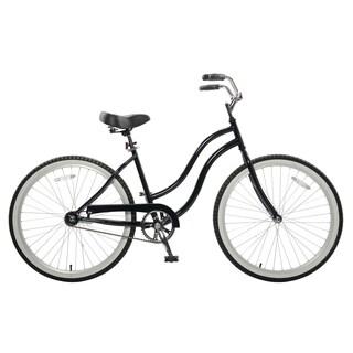 Cycle Force Women's Black 18-inch Cruiser Bike