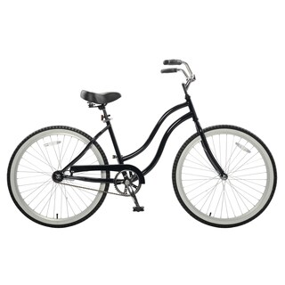 Cycle Force Women's Black 18-inch Cruiser Bike