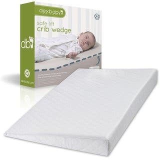Dexbaby Safe Lift Universal Crib Wedge for Baby Mattress and Sleep|https://ak1.ostkcdn.com/images/products/16431162/P22776978.jpg?impolicy=medium
