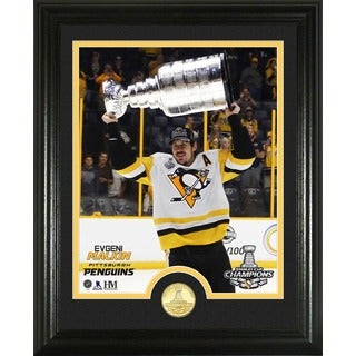 Evgeni Malkin 2017 Stanley Cup Trophy Single Coin Photo Mint