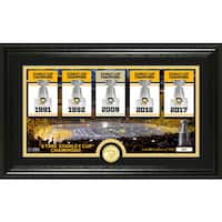 Pittsburgh Penguins Traditions Panoramic Bronze Coin Photo Mint